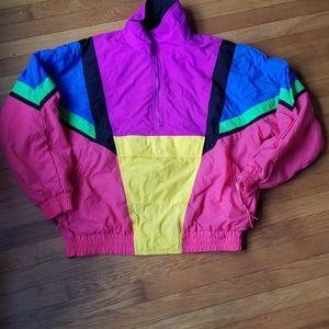 80s ski parka
